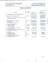 Báo cáo tài chính công ty mẹ quý 4 năm 2014 - Công ty cổ phần Chứng khoán Sài Gòn