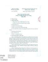 Báo cáo thường niên năm 2014 - Công ty Cổ phần Sông Đà Cao Cường