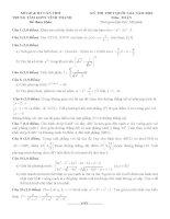 đề thi thử thpt quốc gia môn toán DE302 TTGDTX vĩnh thanh, cần thơ