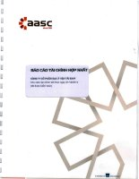 Báo cáo tài chính hợp nhất năm 2014 (đã kiểm toán) - Công ty Cổ phần Đại lý Vận tải SAFI