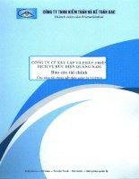 Báo cáo tài chính năm 2014 (đã kiểm toán) - CTCP Đầu tư Xây dựng và Phát triển Hạ tầng Viễn thông