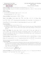 đề thi thử thpt quốc gia môn toán DE308 THPT hà huy giáp, cần thơ