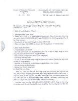 Báo cáo thường niên năm 2011 - Công ty Cổ phần Bóng đèn Phích nước Rạng Đông