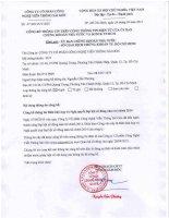 Nghị quyết Đại hội cổ đông thường niên - Công ty Cổ phần Công nghệ Viễn thông Sài Gòn