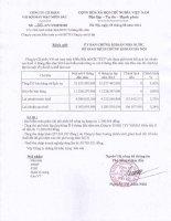 Báo cáo tài chính công ty mẹ quý 2 năm 2014 (đã soát xét) - Công ty Cổ phần Vải sợi May mặc Miền Bắc