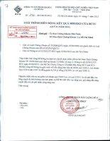 Báo cáo tài chính quý 2 năm 2012 - Công ty Cổ phần Xây dựng số 5