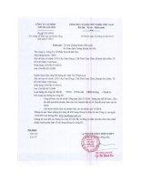 Báo cáo tài chính công ty mẹ quý 4 năm 2014 - Công ty Cổ phần Sơn Hà Sài Gòn