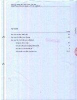 Báo cáo tài chính năm 2014 (đã kiểm toán) - CTCP Cấp nước Tân Hòa