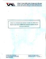 Báo cáo tài chính năm 2012 (đã kiểm toán) - Công ty Cổ phần Xây dựng và Đầu tư Sông Đà 9