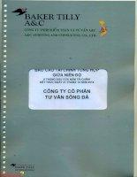 Báo cáo tài chính công ty mẹ quý 2 năm 2014 (đã soát xét) - Công ty Cổ phần Tư vấn Sông Đà