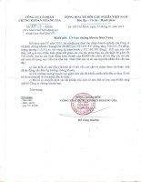 Báo cáo tài chính quý 4 năm 2013 - Công ty cổ phần Chứng khoán Hoàng Gia