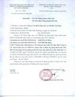 Báo cáo tài chính quý 3 năm 2014 - Công ty cổ phần Sách Giáo dục tại T.P Hồ Chí Minh