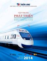 Báo cáo thường niên năm 2014 - Công ty Cổ phần Tập đoàn Thiên Long