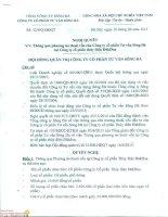 Nghị quyết Hội đồng Quản trị - Công ty Cổ phần Tư vấn Sông Đà