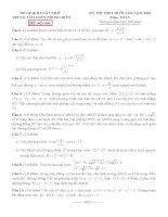 đề thi thử thpt quốc gia môn toán DE301 TTGDTX phong điền, cần thơ