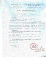 Báo cáo tài chính quý 4 năm 2015 - Công ty Cổ phần Sông Đà 12