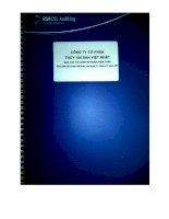 Báo cáo tài chính năm 2014 (đã kiểm toán) - Công ty Cổ phần Thủy hải sản Việt Nhật