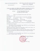 Nghị quyết Hội đồng Quản trị - Công ty cổ phần Tập đoàn Container Việt Nam