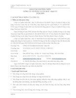 Báo cáo thường niên năm 2009 - Công ty cổ phần Xuân Mai - Đạo Tú