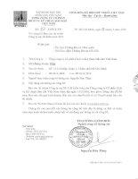 Báo cáo tài chính công ty mẹ năm 2015 (đã kiểm toán) - Tổng Công ty Cổ phần Dịch vụ Kỹ thuật Dầu khí Việt Nam