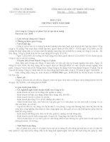 Báo cáo thường niên năm 2009 - Công ty Cổ phần VICEM Vật tư Vận tải Xi măng