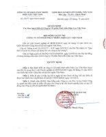 Bản điều lệ - CTCP Phát triển Điện lực Việt Nam
