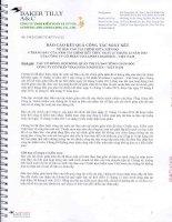 Báo cáo tài chính quý 2 năm 2013 (đã soát xét) - CTCP Vinalines Logistics - Việt Nam