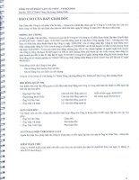 Báo cáo tài chính năm 2015 (đã kiểm toán) - CTCP Vận tải thủy - Vinacomin