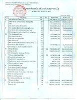 Báo cáo tài chính hợp nhất quý 3 năm 2012 - Công ty Cổ phần Vàng bạc Đá quý Phú Nhuận