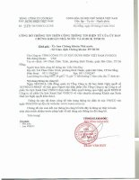 Nghị quyết Hội đồng Quản trị - Tổng công ty Cổ phần Xây dựng điện Việt Nam