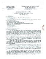 Báo cáo thường niên năm 2014 - Công ty Cổ phần Thiết bị Bưu điện