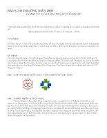 Báo cáo thường niên năm 2008 - Công ty cổ phần Dược phẩm OPC