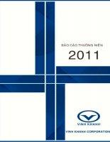 Báo cáo thường niên năm 2011 - Công ty cổ phần Cáp Nhựa Vĩnh Khánh