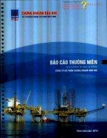 Báo cáo thường niên năm 2014 - Công ty cổ phần Chứng khoán Dầu khí