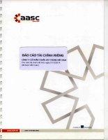 Báo cáo tài chính công ty mẹ năm 2014 (đã kiểm toán) - CTCP Thuốc sát trùng Việt Nam