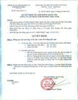 Nghị quyết Hội đồng Quản trị - Công ty Cổ phần Ánh Dương Việt Nam