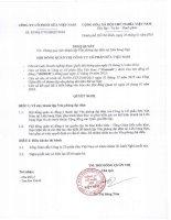Nghị quyết Hội đồng Quản trị - Công ty Cổ phần Sữa Việt Nam