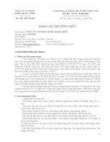 Báo cáo thường niên năm 2011 - Công ty Cổ phần Thiết bị Bưu điện