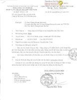 Báo cáo tài chính công ty mẹ năm 2014 (đã kiểm toán) - Tổng Công ty Cổ phần Dịch vụ Kỹ thuật Dầu khí Việt Nam