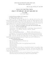 Báo cáo thường niên năm 2009 - Công ty Cổ phần Vật liệu xây dựng Bến Tre