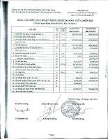 Báo cáo KQKD quý 1 năm 2011 - Công ty cổ phần Đầu tư Bất động sản Việt Nam