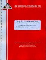 Báo cáo tài chính hợp nhất năm 2013 (đã kiểm toán) - Công ty Cổ phần Vận tải và Thuê tàu biển Việt Nam