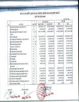 Báo cáo KQKD hợp nhất quý 3 năm 2010 - Công ty Cổ phần Vàng bạc Đá quý Phú Nhuận