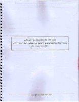 Báo cáo tài chính công ty mẹ năm 2011 (đã kiểm toán) - Công ty cổ phần Địa ốc Dầu khí