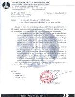 Báo cáo tài chính hợp nhất quý 2 năm 2012 - Công ty Cổ phần Đầu tư và Xây dựng Bưu điện
