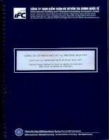 Báo cáo tài chính hợp nhất quý 2 năm 2014 (đã soát xét) - Công ty cổ phần Đầu tư và Thương mại VNN