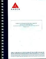 Báo cáo tài chính hợp nhất quý 2 năm 2014 (đã soát xét) - Công ty cổ phần Xuân Mai - Đạo Tú