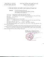 Báo cáo thường niên năm 2014 - Tổng công ty Cổ phần Xây dựng điện Việt Nam