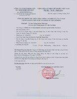 Nghị quyết Đại hội cổ đông thường niên - Công ty Cổ phần Bất động sản Du lịch Ninh Vân Bay
