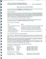 Báo cáo tài chính năm 2011 (đã kiểm toán) - Công ty Cổ phần Du lịch Thành Thành Công